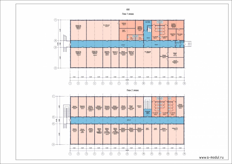 Схемы административно бытовые здания